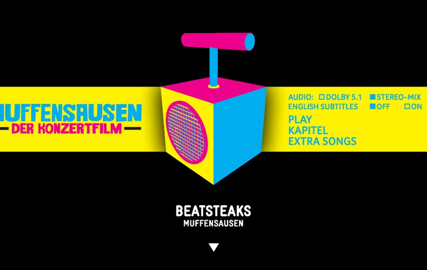 «BEATSTEAKS» – DVD-AUTHORING