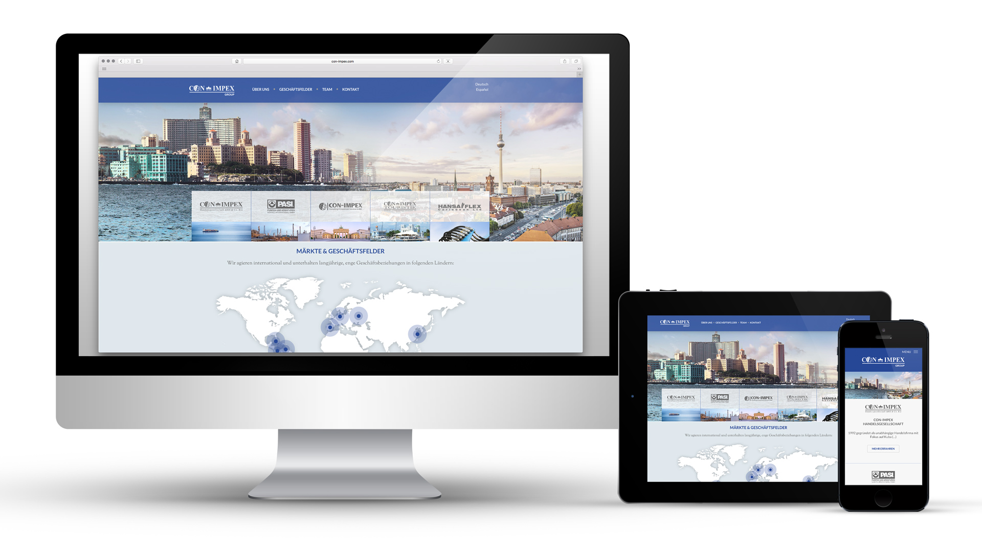 Website Con-Impex Group